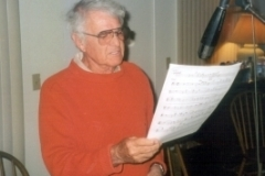 Dick Nash (singing and playing Marie)